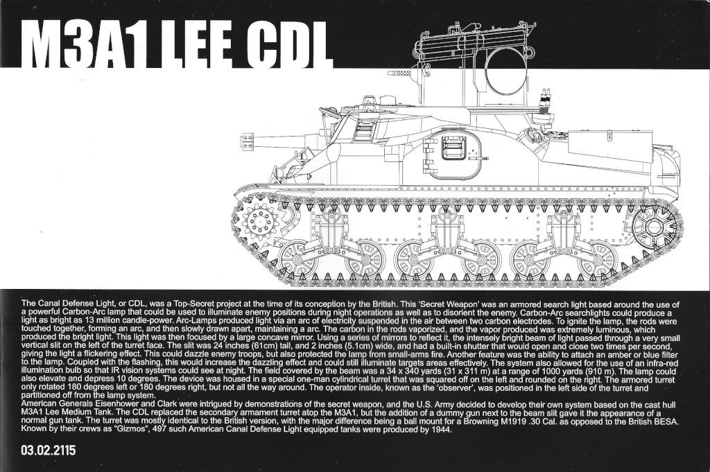 01-2-1024x681 M3A1 LEE CDL 1:35 Takom (#2115)