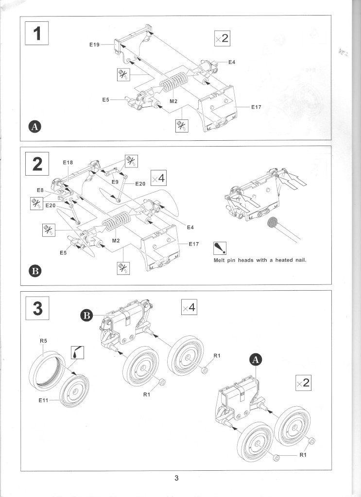 03-1-743x1024 Centurion Mk 5/1 Royal Australian Armoured Corps (Vietnam Version) 1:35 AFV Club (AF35100)