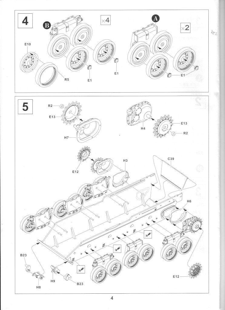 04-1-743x1024 Centurion Mk 5/1 Royal Australian Armoured Corps (Vietnam Version) 1:35 AFV Club (AF35100)