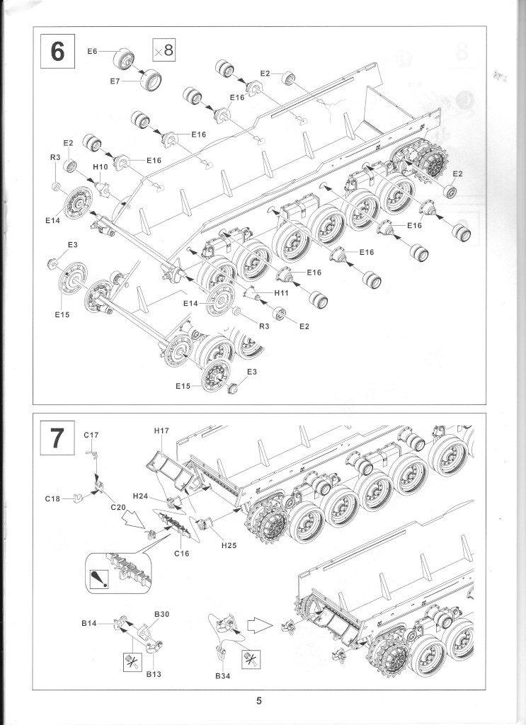 05-1-743x1024 Centurion Mk 5/1 Royal Australian Armoured Corps (Vietnam Version) 1:35 AFV Club (AF35100)