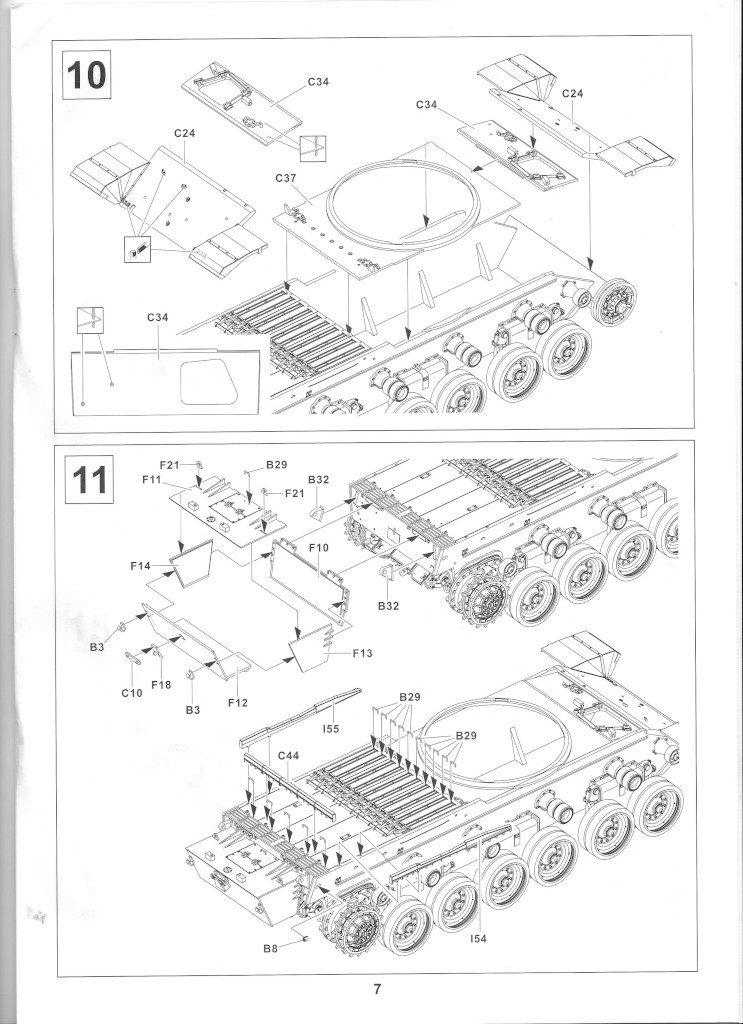 07-1-743x1024 Centurion Mk 5/1 Royal Australian Armoured Corps (Vietnam Version) 1:35 AFV Club (AF35100)