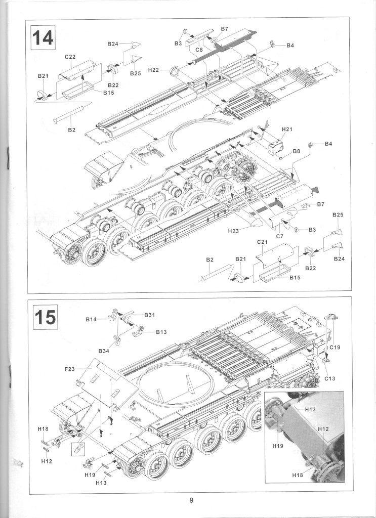 09-1-743x1024 Centurion Mk 5/1 Royal Australian Armoured Corps (Vietnam Version) 1:35 AFV Club (AF35100)
