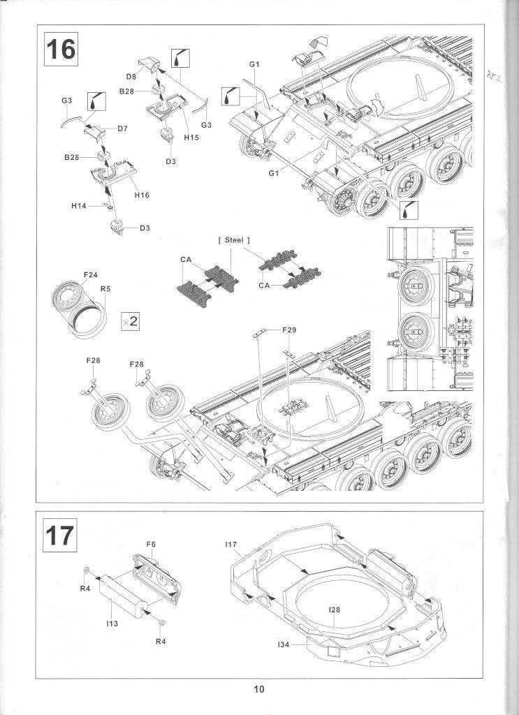 10-1-743x1024 Centurion Mk 5/1 Royal Australian Armoured Corps (Vietnam Version) 1:35 AFV Club (AF35100)