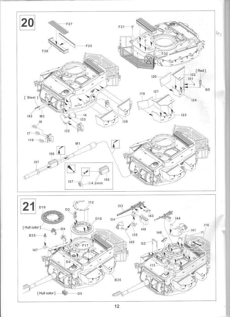 12-1-743x1024 Centurion Mk 5/1 Royal Australian Armoured Corps (Vietnam Version) 1:35 AFV Club (AF35100)