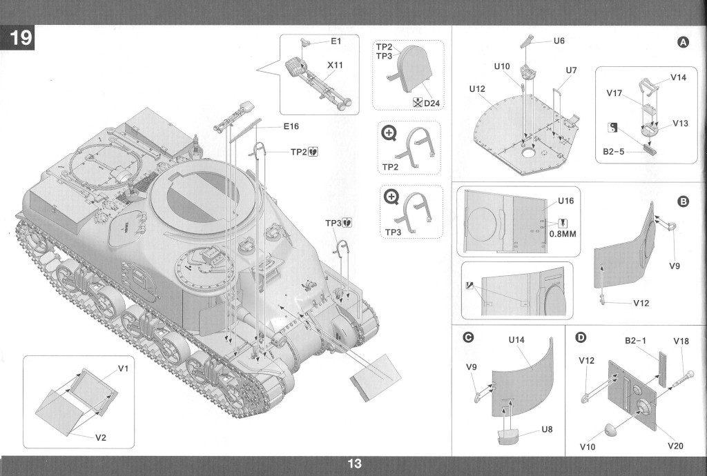 14-2-1024x690 M3A1 LEE CDL 1:35 Takom (#2115)