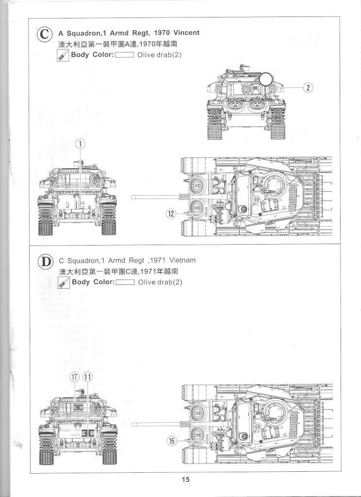 15-1-743x1024 Centurion Mk 5/1 Royal Australian Armoured Corps (Vietnam Version) 1:35 AFV Club (AF35100)