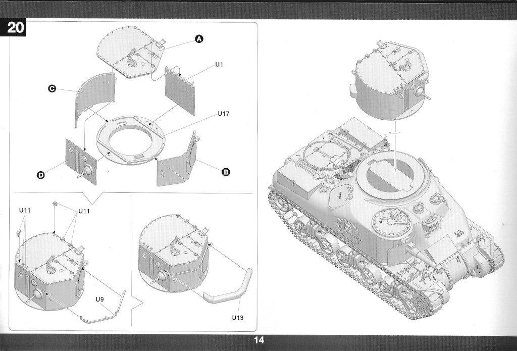 15-2-1024x695 M3A1 LEE CDL 1:35 Takom (#2115)