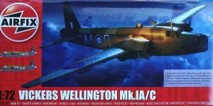 Vickers Wellington Mk. Ic in 1:72 von Airfix A08019