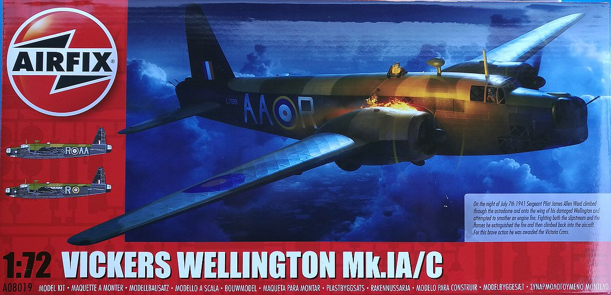 Airfix-A08019-Vickers-Wellington-Mk.-Ic-35 Vickers Wellington Mk. Ic in 1:72 von Airfix A08019