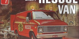 Chevy Rescue Van 1:25 AMT (#812)