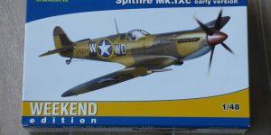 Spitfire Mk. IXc early version WEEKEND im Maßstab 1:48 von Eduard 84137