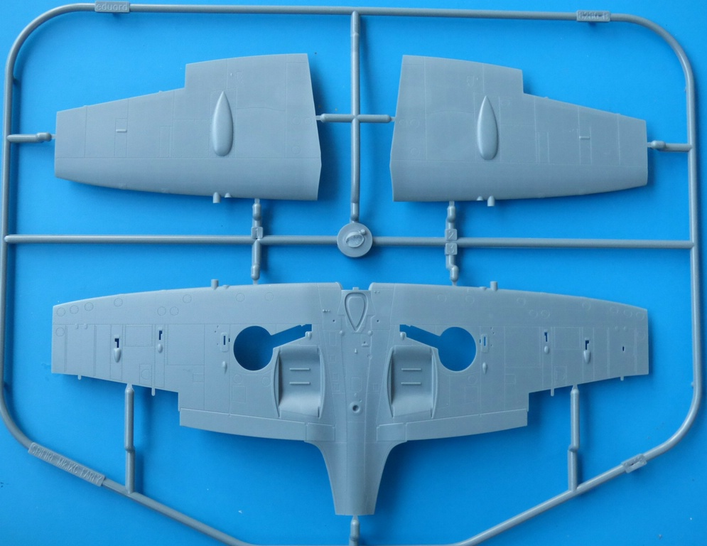 Eduard-84137-Spitfire-Mk.-IXc-early-version-WEEKEND-4 Spitfire Mk. IXc early version WEEKEND im Maßstab 1:48 von Eduard 84137