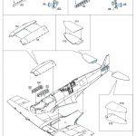 Eduard-84137-Spitfire-Mk.-IXc-early-version-WEEKEND-Bauanleitung-6-150x150 Spitfire Mk. IXc early version WEEKEND im Maßstab 1:48 von Eduard 84137