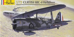 Kit-Archäologie: Curtiss SBC-4 Helldiver im Maßstab 1:72 von Heller 80285