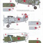 ICM-32010-Polikarpov-I-153-Tschaika-12-150x150 Polikarpov I-153 Tschaika im Maßstab 1:32 von ICM 32010