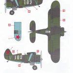 ICM-32010-Polikarpov-I-153-Tschaika-13-150x150 Polikarpov I-153 Tschaika im Maßstab 1:32 von ICM 32010