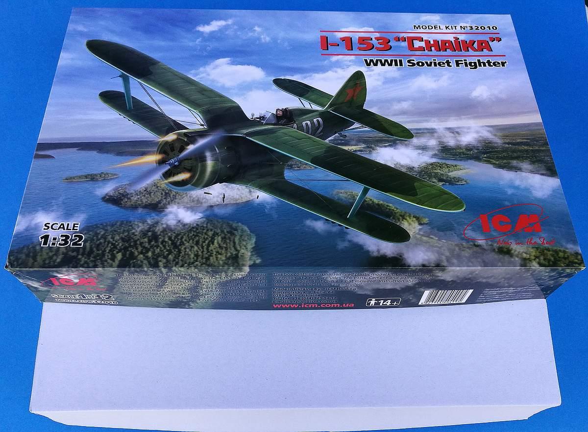 ICM-32010-Polikarpov-I-153-Tschaika-15 Polikarpov I-153 Tschaika im Maßstab 1:32 von ICM 32010