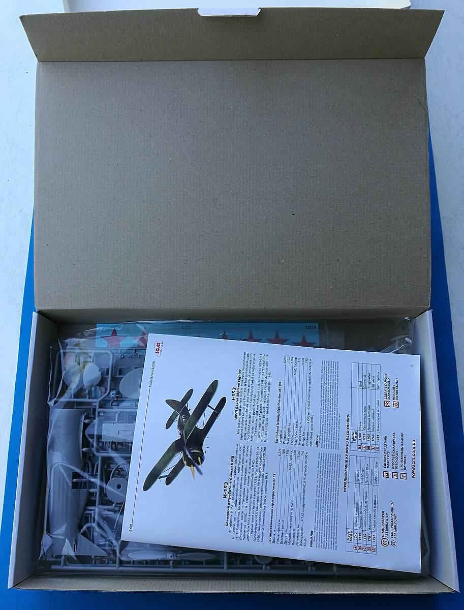 ICM-32010-Polikarpov-I-153-Tschaika-16 Polikarpov I-153 Tschaika im Maßstab 1:32 von ICM 32010