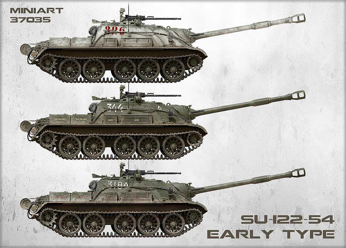 MiniArt-37035-SU-122-54-Vorschau-10 Bausatz-Vorschau: SU 122-54 im Maßstab 1:35 von MiniArt 37035