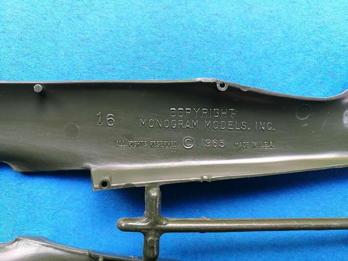 Monogram-6804-FW-190-A-17 Kit-Archäologie - heute: Die Focke Wulf FW 190 A von Monogram (# 6804)