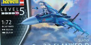 Suchoi Su-33 Navy Flanker in 1:72 von Revell 03911