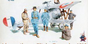 Aéronautique Militaire Francaise 1916 (Figuren französischer Flieger WWI) – Eduard 1/48