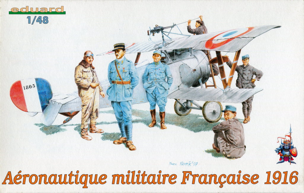 Review_Ed_Aeron.mil_.fr_.1916_01 Aéronautique Militaire Francaise 1916 (Figuren französischer Flieger WWI) - Eduard 1/48