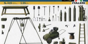 Field tool shop  –  Italeri 1/35