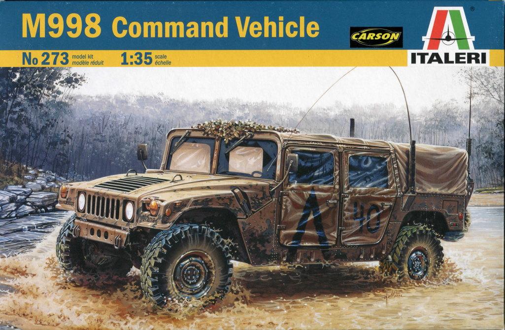Review_Italeri_M998_16 M998 Command Vehicle  -  Italeri 1/35