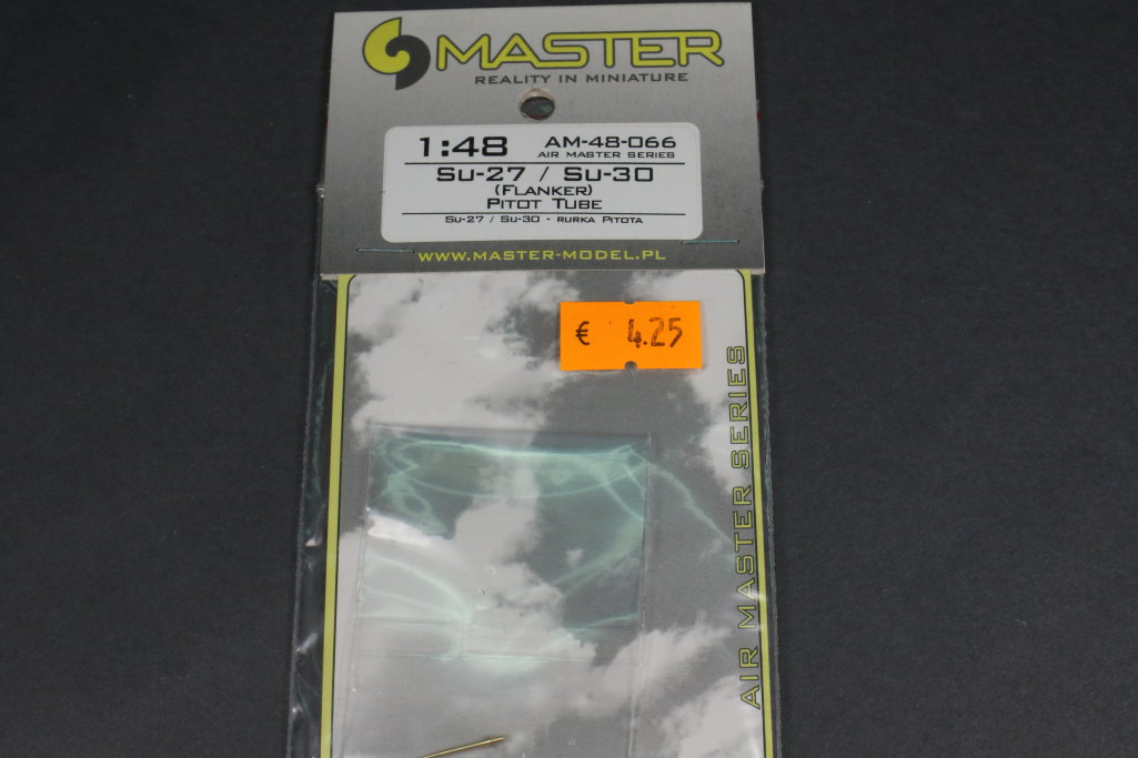 Review_Master_Pitot_Su-27_30_02 Feines Messing für die Su-27-Familie - Master Model 1/48