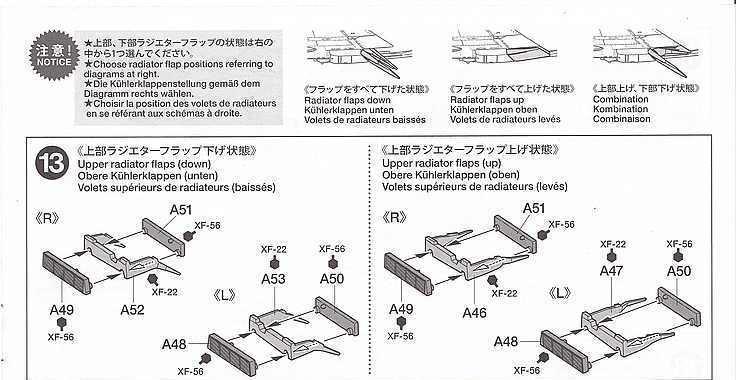 Tamiya-117-Messerschmitt-Bf-109-G6-13-Kopie Messerschmitt Bf 109 G6 im Maßstab 1:48 von Tamiya 61117