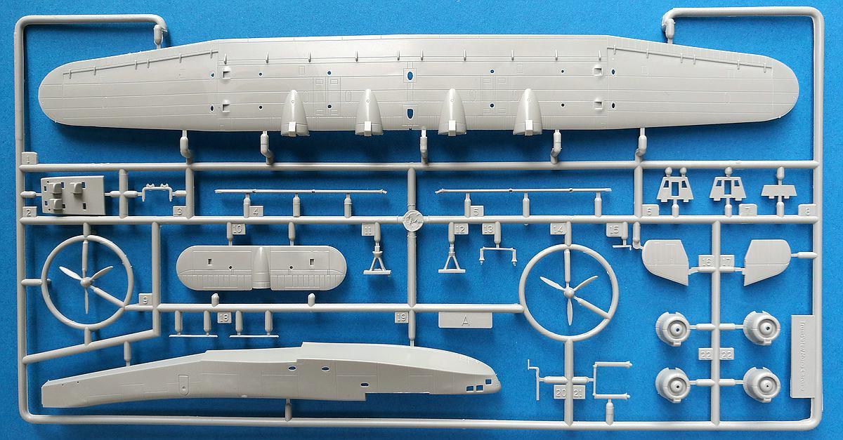 Trumpeter-01323-Kawanishi-H6K5-L-Mavis-25 Japanisches Flugboot Kawanishi H6K5-L im Maßstab 1:144 von Trumpeter