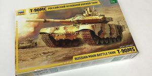 Russian MBT T-90 MS im Maßstab 1:35 von Zvezda 3675