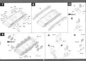 06-300x215 Bergepanther Ausf. A Assembled by Demag 1:35 Takom (#2101)