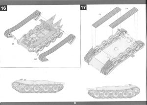 10-300x215 Bergepanther Ausf. A Assembled by Demag 1:35 Takom (#2101)