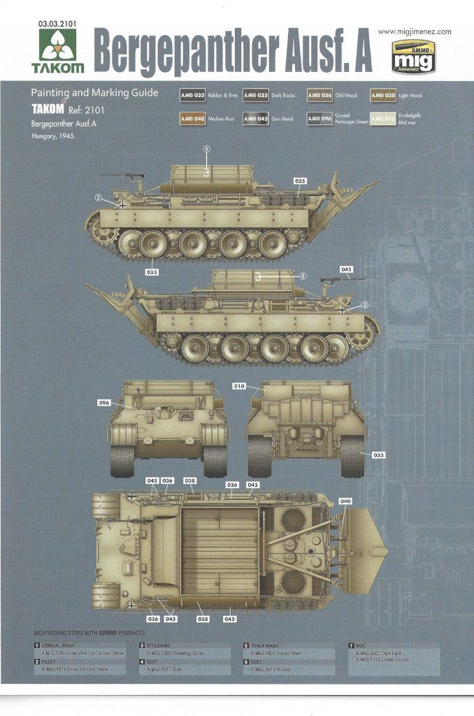 34-678x1024 Bergepanther Ausf. A Assembled by Demag 1:35 Takom (#2101)