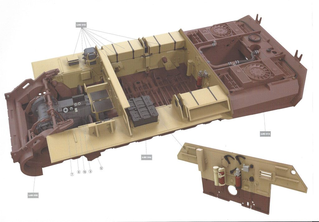 37-1024x714 Bergepanther Ausf. A Assembled by Demag 1:35 Takom (#2101)