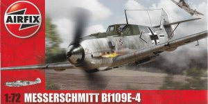 Messerschmitt Bf 109 E-4 in 1:72 von Airfix A01008