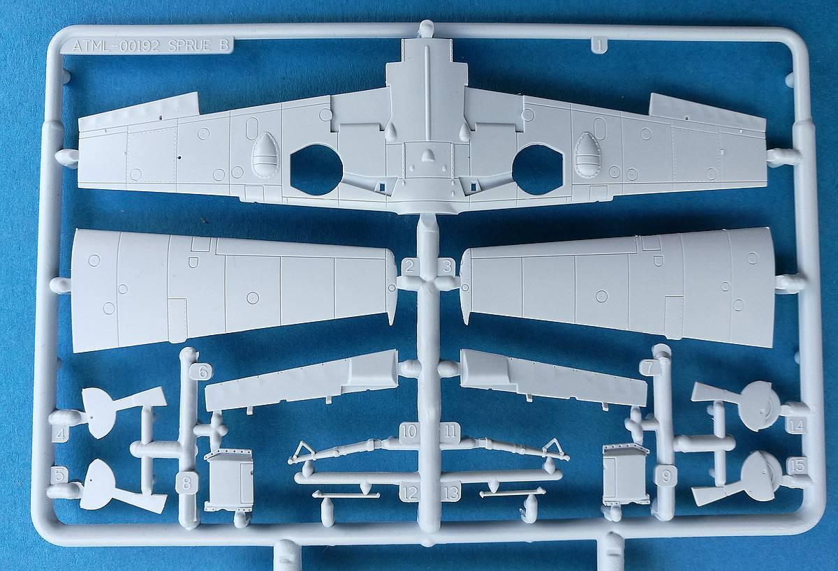 Airfix-A01008-Messerschmitt-Bf-109E-4-19 Messerschmitt Bf 109 E-4 in 1:72 von Airfix A01008