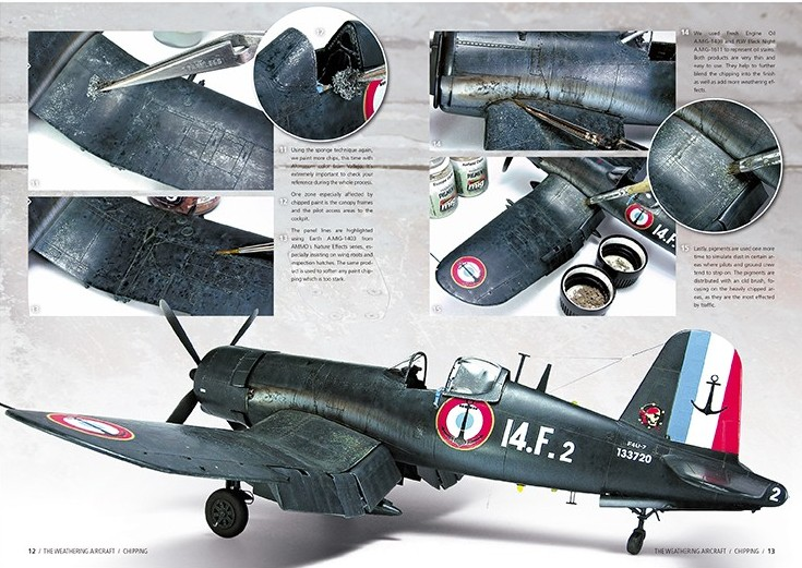 Ammo-by-Mig-The-Weathering-Aircraft-2-Chipping-2 The Weathering Aircraft Magazin Nr. 2: Chipping