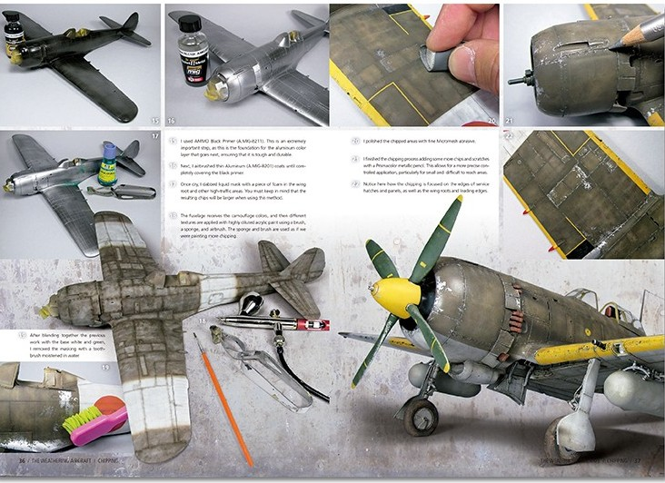 Ammo-by-Mig-The-Weathering-Aircraft-2-Chipping-4 The Weathering Aircraft Magazin Nr. 2: Chipping