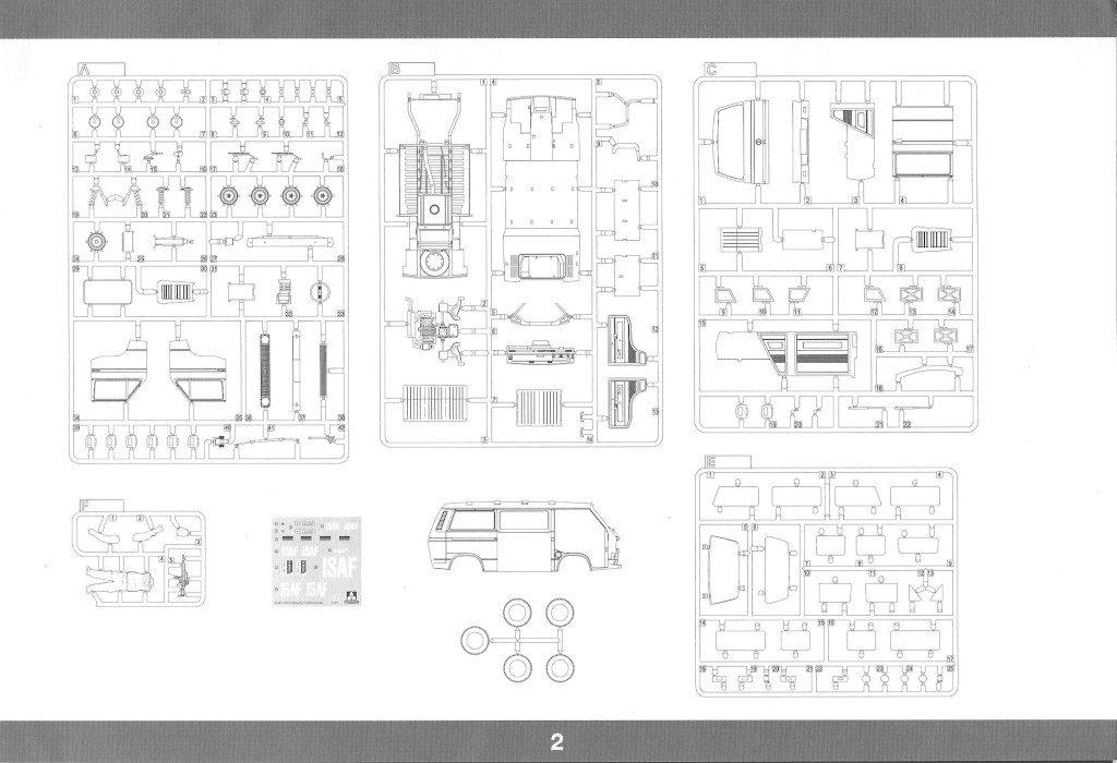 Anleitung03-1024x700 T3 Transporter Bus Takom 1:35 (#2013)