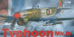 Typhoon Mk.Ib im Maßstab 1:48 Limited Edition von Eduard 11117