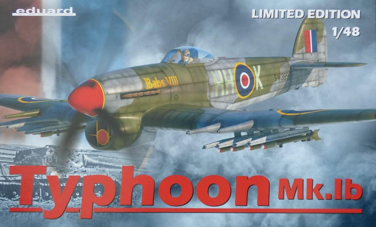Eduard-11117-Typhoon-Mk.Ib-Limited-Edition-1 Typhoon Mk.Ib im Maßstab 1:48 Limited Edition von Eduard 11117