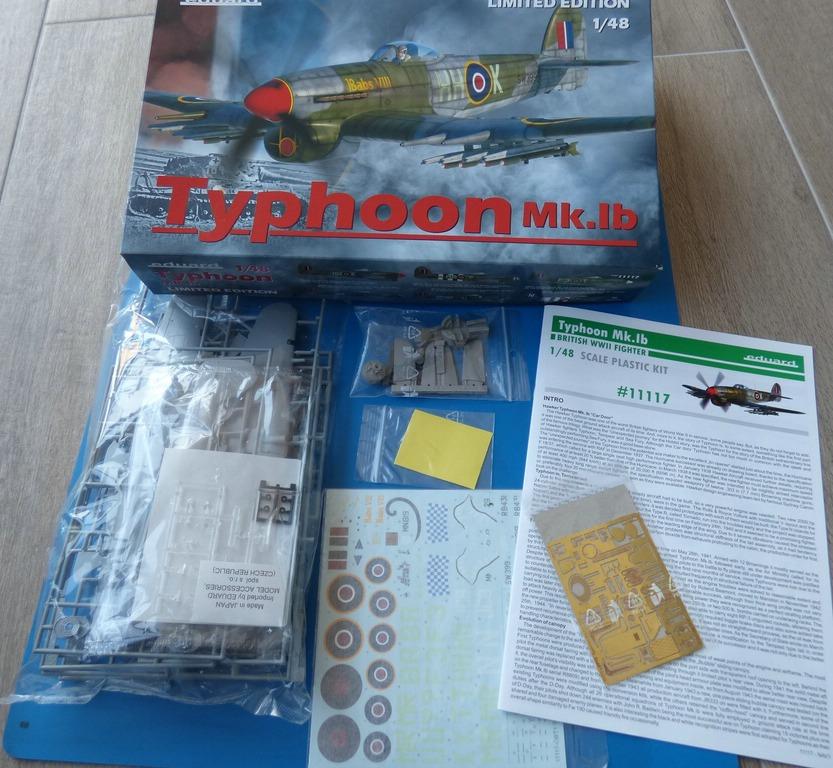 Eduard-11117-Typhoon-Mk.Ib-Limited-Edition-2 Typhoon Mk.Ib im Maßstab 1:48 Limited Edition von Eduard 11117