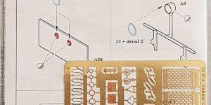 Detailset für die WingNutWings Fokker D.VII in 1:32 von Eduard 32914