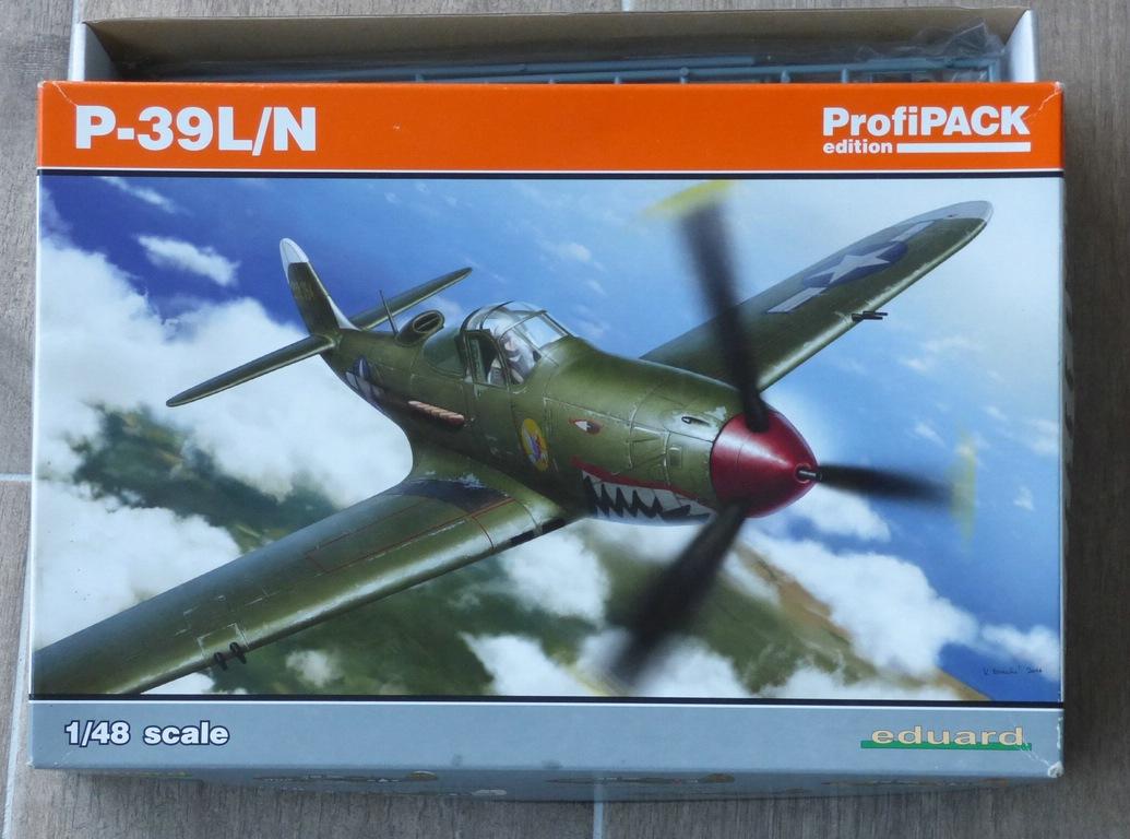 Eduard-8066-Bell-P-39-Airacobra-1 Bell P-39 L/N Airacobra im Maßstab 1:48 von Eduard PROFIPACK 8066