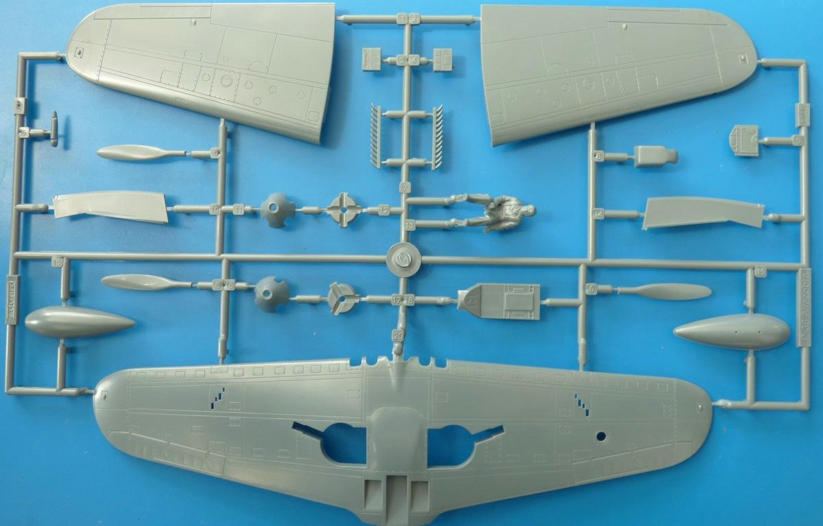 Eduard-8066-Bell-P-39-Airacobra-6 Bell P-39 L/N Airacobra im Maßstab 1:48 von Eduard PROFIPACK 8066