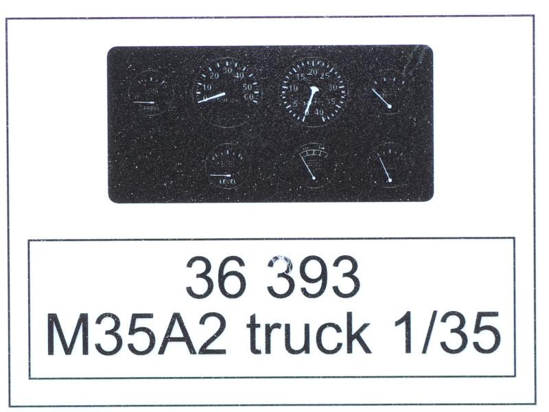 Film M35A2 Truck for AFV Club Kit Eduard 1:35 (#36393)