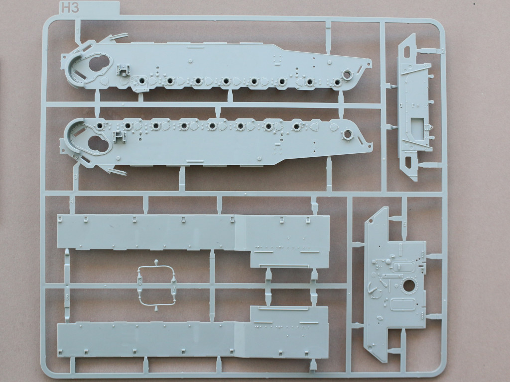 H3 Bergepanther Ausf. A Assembled by Demag 1:35 Takom (#2101)